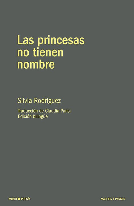 Las princesas no tienen nombre | Silvia Rodriguez | Maclein Y Parker | Editorial de libros independiente | Venta de libros online