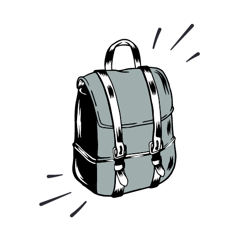 Socio mochila multiusos | Maclein y Parker | Editorial de libros independiente | Venta de libros online
